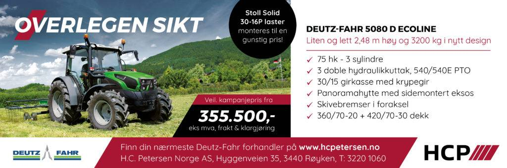 Deutz-Fahr 5080 Ecoline